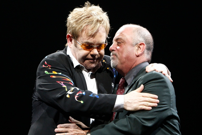 Billy Joel and Elton John in Concert